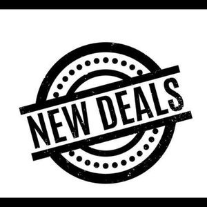 New deals!!!  Check it out